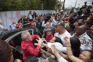 """Lula se queja de que se persiga a la """"izquierda"""" como se hizo con los judíos"""