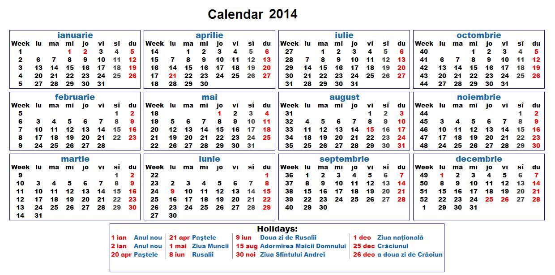 calendar 2014 , calendar admitere 2015 , calendar bac 2015 , calendar ...