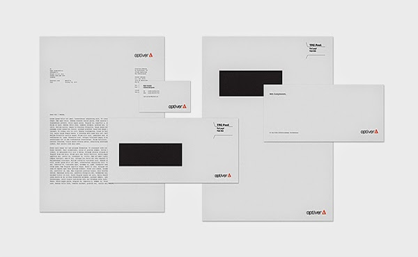 Marius Roosendaal Branding - Corporate identity for Optiver