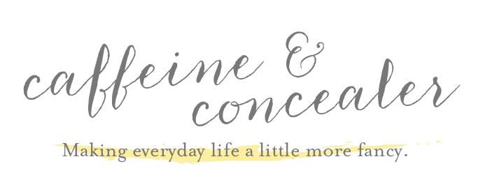 Caffeine & Concealer