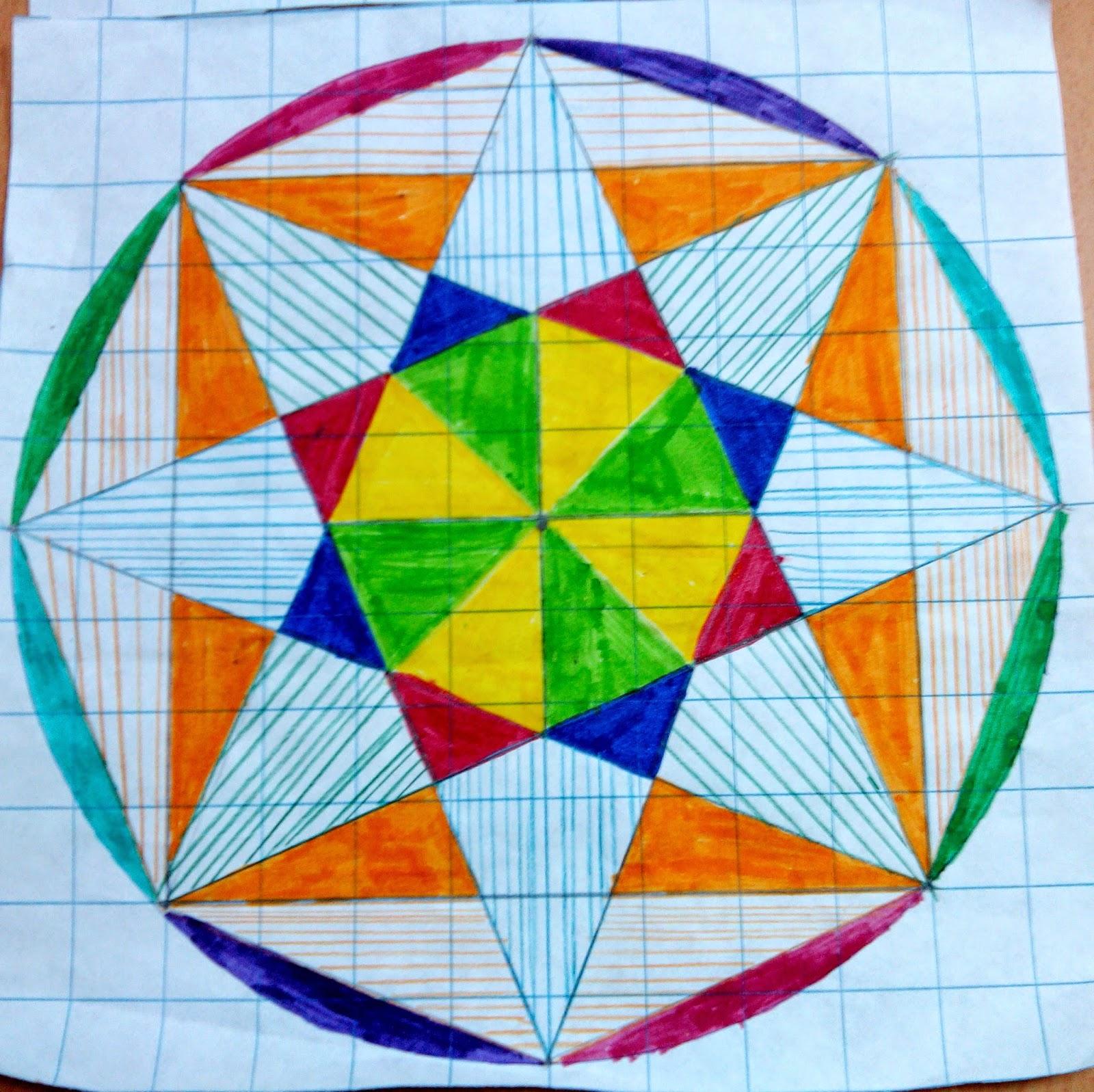 Aula rural de primaria estrellas de ocho puntas dibujo - Como decorar un dibujo de una castana ...