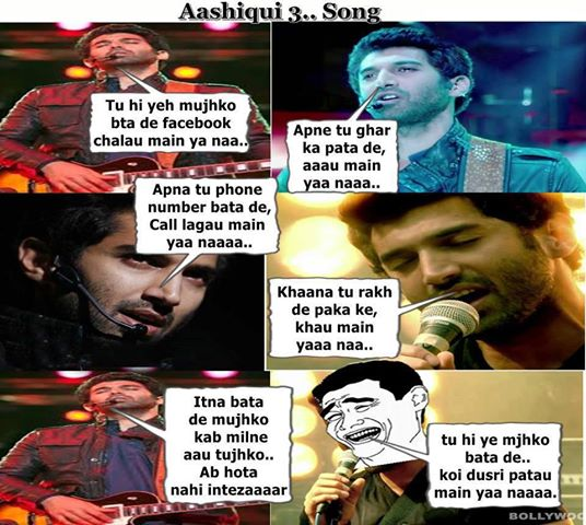 Ashiqui 3..Song | Ashiqui 3 Song trolled