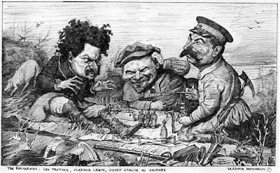 карикатура ленин