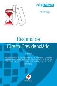 Resumo de Direito Previdenciário, 8ª ed. 2016 (Hugo Goes)