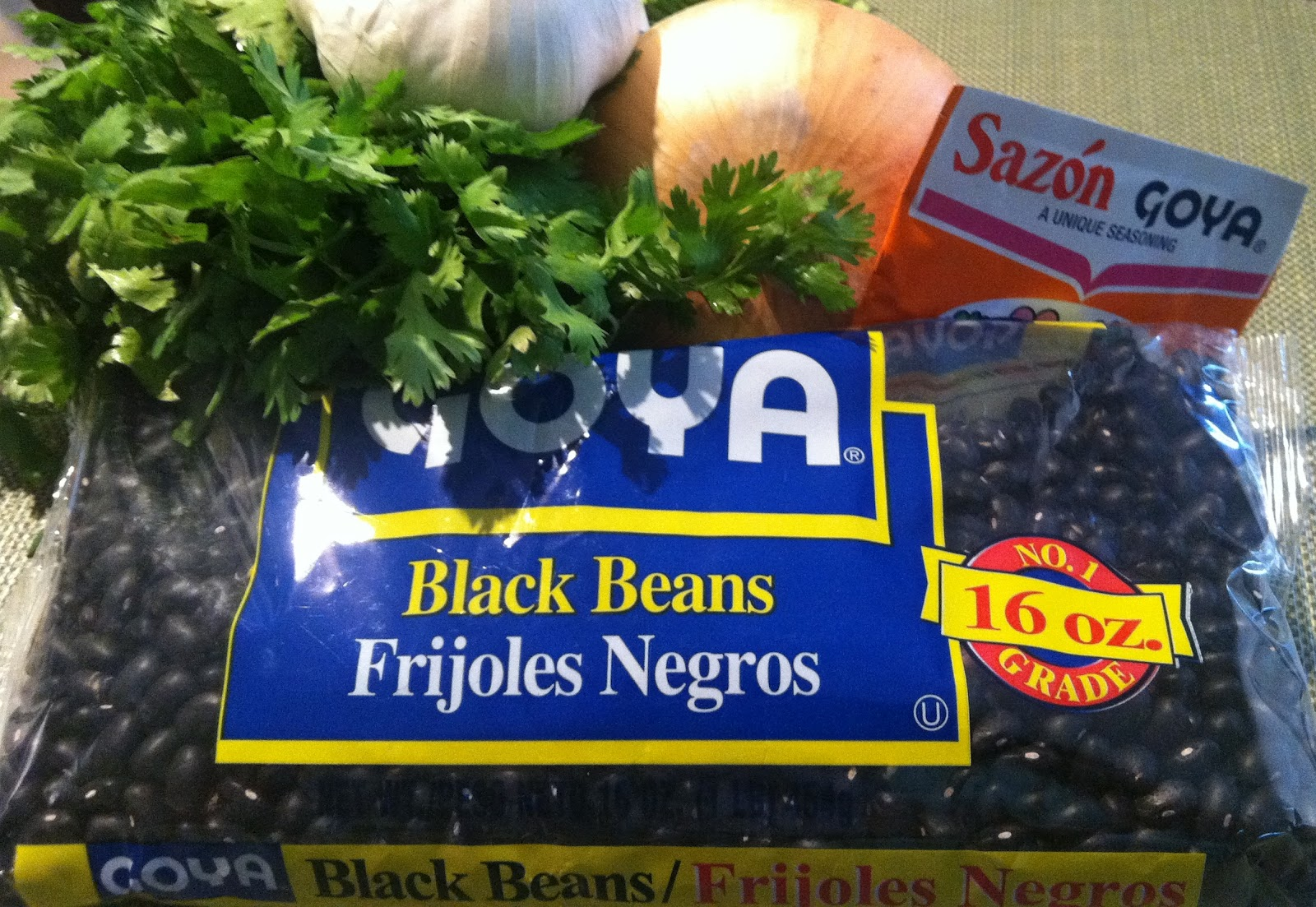 Taste and Tell Recipes: Black Beans ~ Frijoles Negros