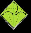 Cara Membuat Origami Belalang Sembah