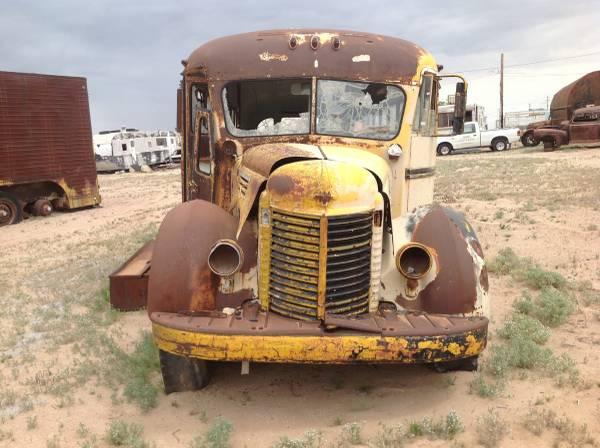 Restoration Project Cars: 1941 International School Bus ...
