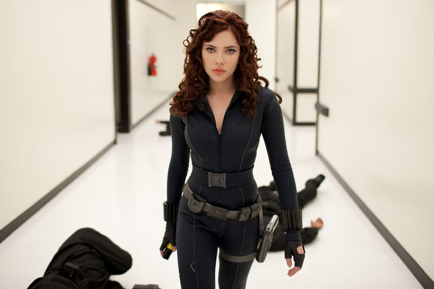 Today we start withBlack Widow (portrayed by the beauteous Scarlet