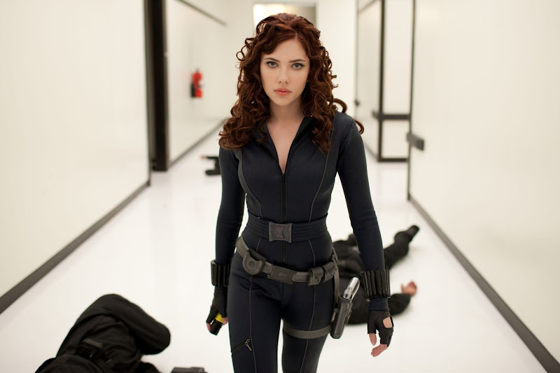 Today we start withBlack Widow (portrayed by the beauteous Scarlet  title=