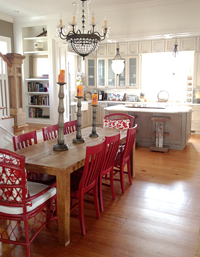 Twinspired for Southern living dining room ideas
