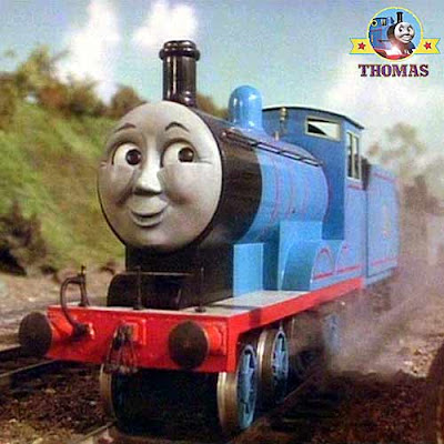 Thomas and friends Edward the blue engine a really useful Sodor railway steam train locomotive