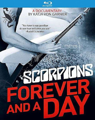 Scorpions documentary Forever and a Day Blu-ray cover
