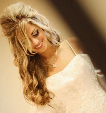 for Long Hair, wedding hairstyle, long wedding hairstyles, wedding ...