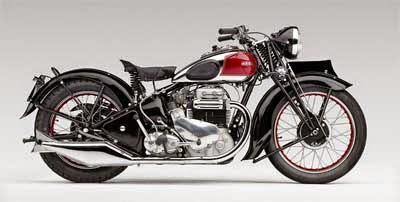 gambar sepeda motor tahun 1950