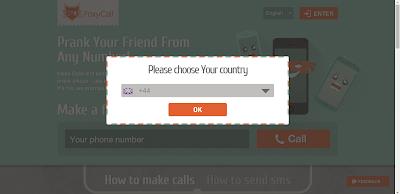 موقع لاجراء مكالمات وارسال الرسائل مجانية بالاسم الذي تحدده