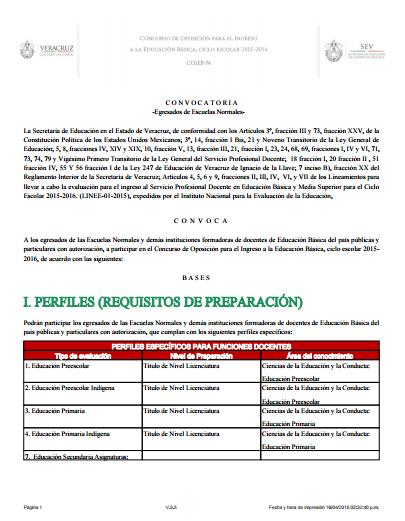 Zona 50 telesecundarias convocatoria para el concurso de for Convocatoria para plazas docentes 2016