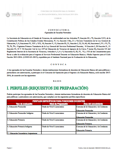 Zona 50 telesecundarias convocatoria para el concurso de Convocatoria para las plazas docentes 2016