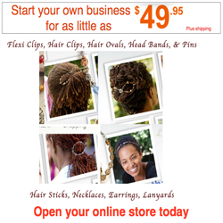 START EARNING $$$ TODAY SELLING HAIR ACCESSORIES!!