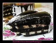 "Black & White Italian Choc.Cake @ RM80 (9"")"