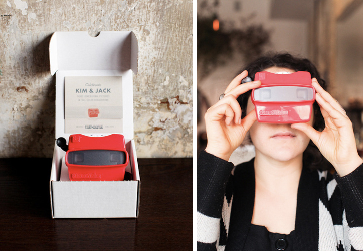 stephmodo Viewmaster Wedding Invitations