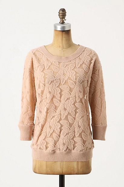 Пуловер С Кружевом Доставка