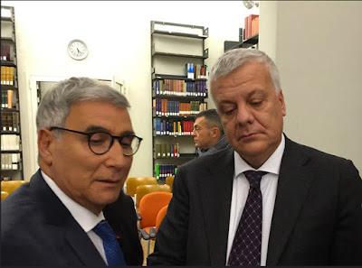 Antonio Fago e Ministro Galletti