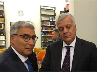 Antonio Fago e Ministro Gian Luca Galletti
