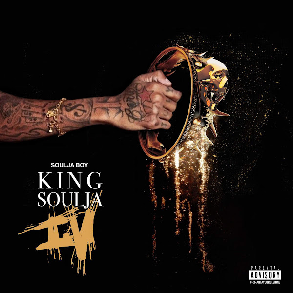 Soulja Boy Tell 'Em - King Soulja 4 Cover