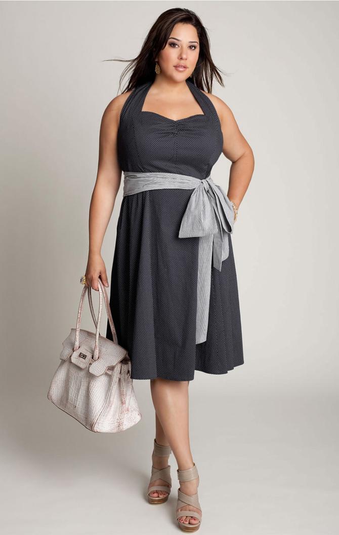 Vintage Look Plus Size Dresses