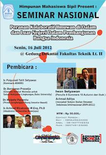 seminar nasional FT sipil UB 2012