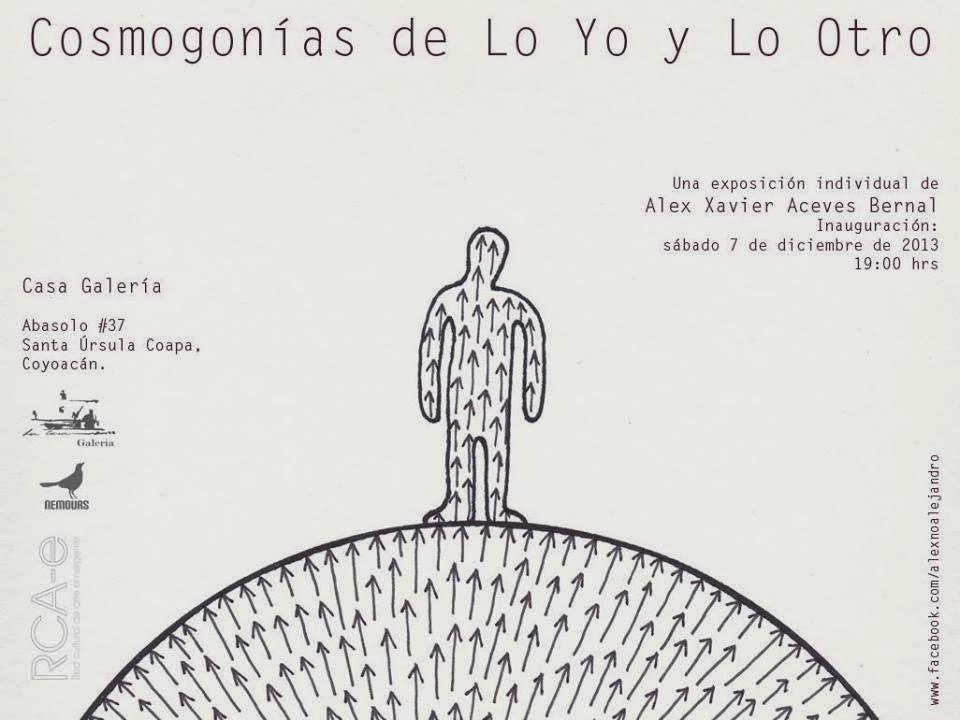 """Exposición """"Cosmogonías de Lo Yo y Lo Otro"""" en la Casa Galería de Sta. Úrsula"""