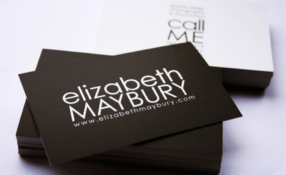 Elizabeth Maybury Business Card