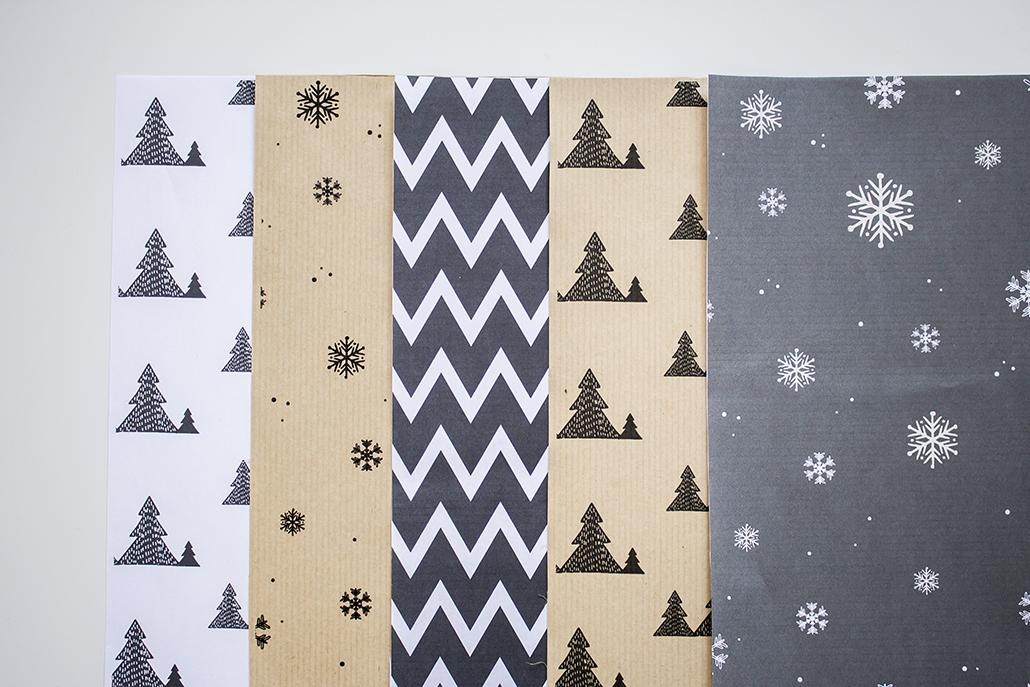 Leanna earle printables de no l les papiers cadeaux - Maison en papier a imprimer ...