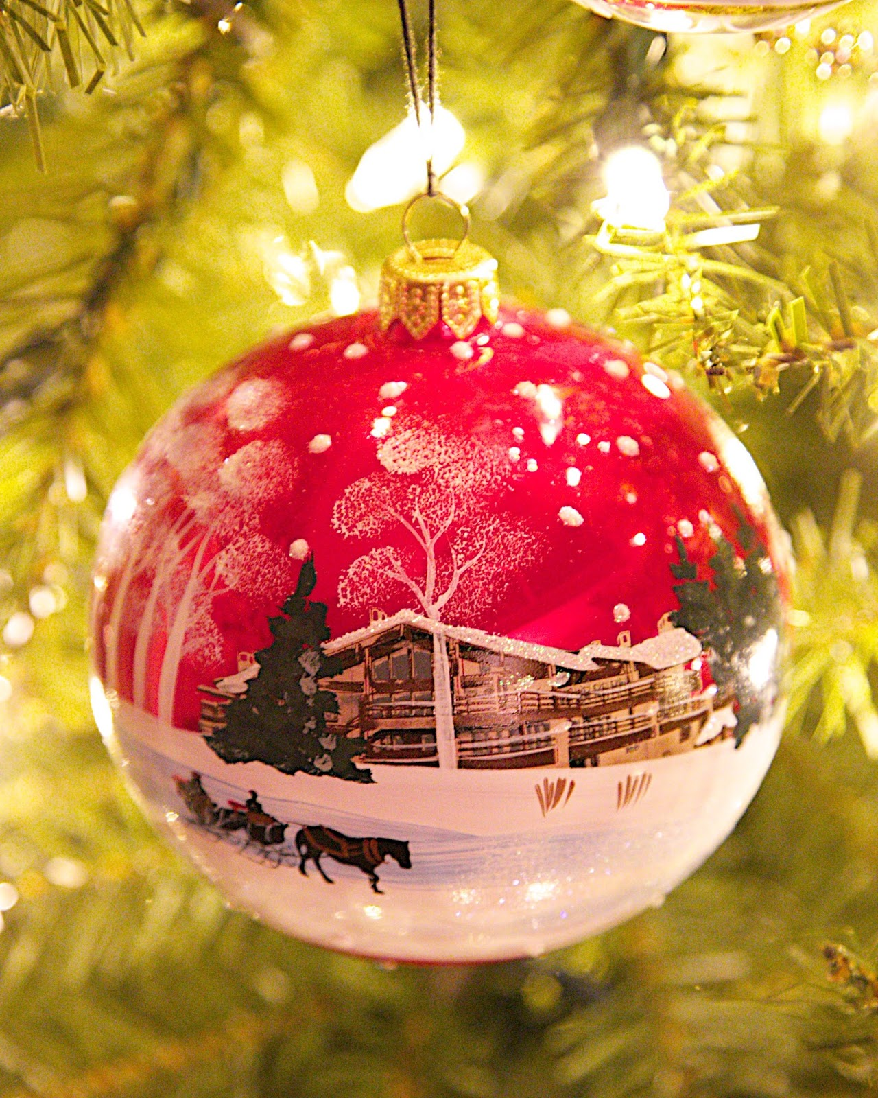 Stein Erikson Lodge Ornament
