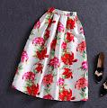 New Spring Vintage Swing Skirts
