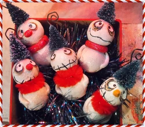 Snowmen ornamets