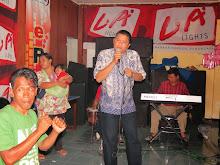 Dangdutan di Radio RKSN Sumedang. 2012