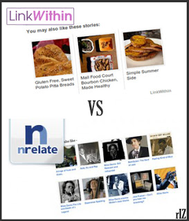 Nrelate Linkwithin blogger