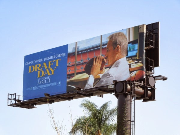 Draft Day movie billboard