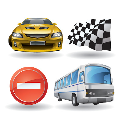 Automotive Entertainment Calendar Icon Vector Material - 02