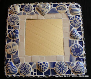mosaic mirror