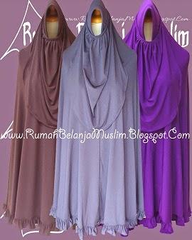 Jilbab Syar'i Jersey