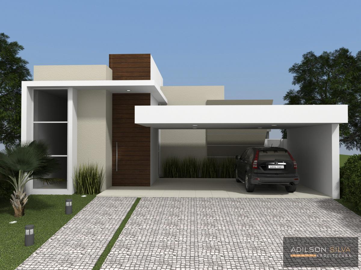 Adilson silva arquitetura resid ncia unifamiliar t rrea for Modelo de casa familiar