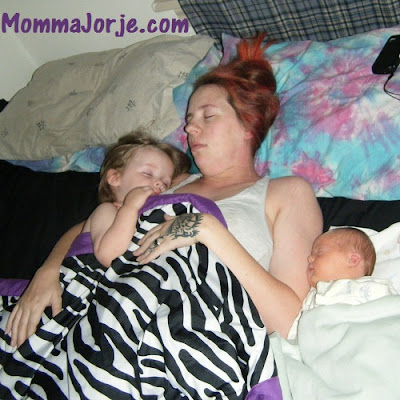 Cosleeping Momma