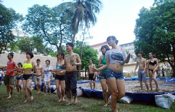 Mud Day in Vietnam