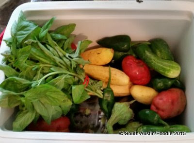 Johnson's Backyard Garden: Cooking Up Dinner