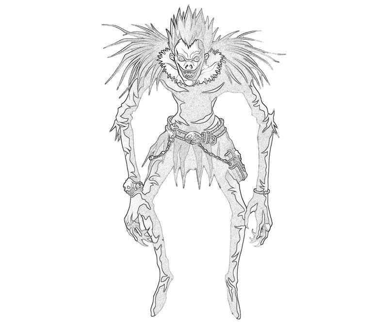 Death Note Ryuk Character   Temtodasas