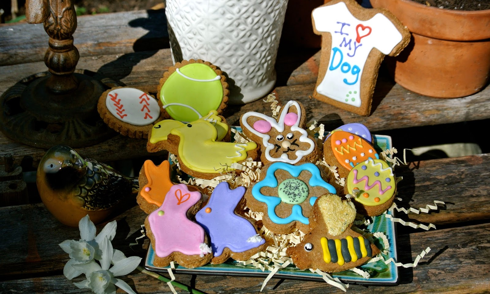 Ma Snax Dog Treats Easter Cookie Assortment