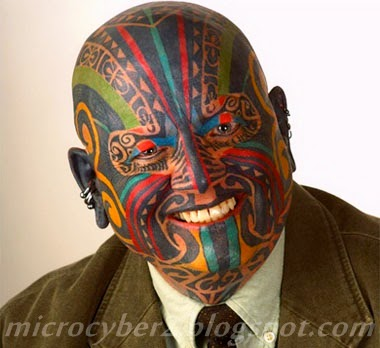 Tatto Motif di Kepala
