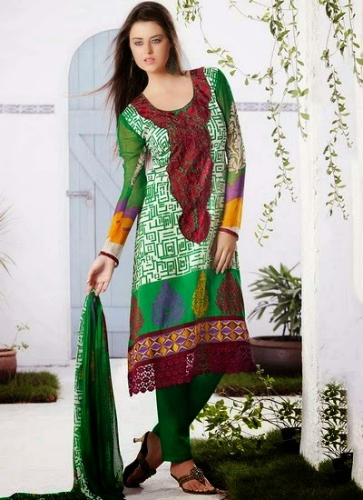 Pakistani Cotton Shalwar Kameez Designs